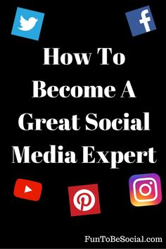 In this article we discuss how to become a great social media expert. Although I believe there is no such thing as an expert in social media because it is so new here is a guide on how to become very good at it.  #socialmediaexpert #socialmediamarketing #socialmedia