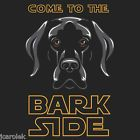 Dog Come to the Bark Side T shirt Unisex S M L XL 2XL New NWT Cotton Black