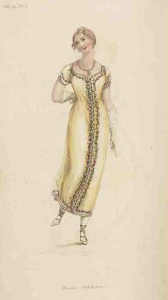 Ball dress, Ackermann's Repository, April 1811.