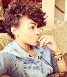 19.Curly Pixie Cut More