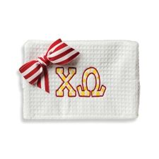 Chi Omega Large Waffle Bag  www.sassysoroity.com #XO.