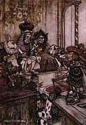 "New artwork for sale! - "" Rackham Arthur Alice In Wonderland Who Stole The Tarts by Arthur Rackham "" - http://ift.tt/2puQLsG"