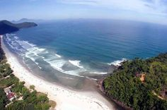 Praia de Itamambuca em Ubatuba - Aluguel Temporada Ubatuba - htp://alugueltemporadaubatuba.com