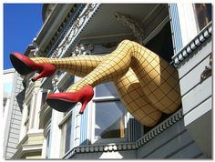 San Fancisco, CA - in the Haight Ashbury district; it's fun & funky