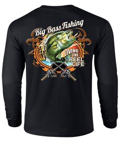 U.S. Custom Ink - Big Bass Fishing T-Shirt, $13.99 (http://www.uscustomink.com/big-bass-fishing-t-shirt/)