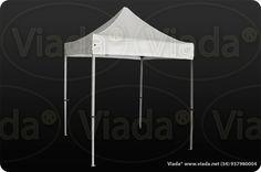 Carpa plegable color blanco 2x2 gama Enduro #carpa #carpaplegable #carpaplegablebarata http://viada.net/tienda/
