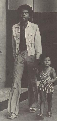 Gilberto Gil e Preta.