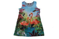 dress Jane Flamingo, by Anne Kurris
