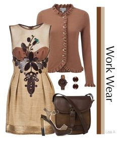 """""""Dressing for Work"""" by labond on Polyvore featuring Pure Collection, CESAR ARELLANES, DUBARRY and Jimmy Choo"""