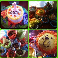 Jungle birthday party!