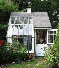 English garden greenhouse #conservatorygreenhouse