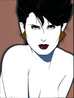 Art of Patrick Nagel. It screams 80's, but that's what makes him so awesome.