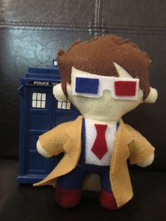 Doctor Who 10th Doctor Plush / Doll by ArchaicHero on Etsy, $10.00 Omg