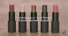 Introducing the Prismatic Pearl Multistick. Five universally flattering shades in our beloved cream-to-powder formula for eyes, lips, and cheeks. #Entry