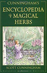 Cunningham's Encyclopedia of Magical Herbs is a comprehensive guide to magical herbalism and a cornerstone of every herbal witches bookshelf. My favorite thing about this book is that it includes an index of herbal folk names which comes in very handy if you've ever tried to use spells from old grimoires! (affiliate)
