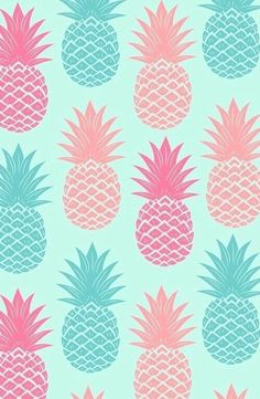 wallpaper, pineapple, and background afbeelding