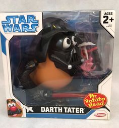 Playskool Star Wars Darth Tater Mr Potato Head New In Box Gift Collectible   | eBay