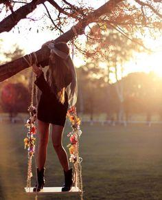 columpios ,sientes como si te aproximaras al atardecer ♥ #bohemian ☮k☮ #boho