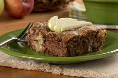 No Bother Apple Cake | MrFood.com