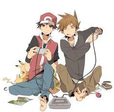 Pokemon Red & Green lets play Pokemon Gif, Pokemon Red Game, Green Pokemon, Pokemon Photo, Pokemon Ships, Pokemon Memes, Pokemon Funny, All Pokemon, Pokemon Fan Art