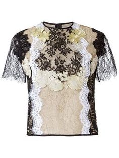 Martha Maderios lace blouse