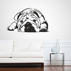 Amazon.com - Wall Decal Vinyl Sticker Decals Art Decor Design English Bulldog Dogs Puppy Pets Animals Friend Nature Dorm Bedroom House Style(r 363) -