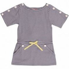 striped   dress   toddler girl