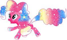 Galaxy Rainbow Powered Pinkie Pie