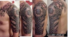 Tattoo lovers always tattooing and trying to find such tattoos with rich and deep history, which kept it`s undoubt popularity through the ages. Celtic cross t Bild Tattoos, Body Art Tattoos, Sleeve Tattoos, Cool Tattoos, Tatoos, Awesome Tattoos, Armour Tattoo, Shield Tattoo, Tattoo 2015