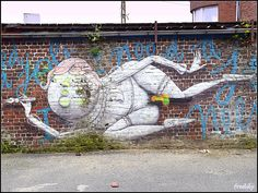 Street art festival Roeselare 2014 (Belgium) ZEDL (italia)