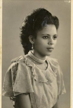 58 Ideas black women in history vintage photos Lily Elsie, Vintage Black Glamour, Vintage Beauty, Vintage Hair, Women In History, Black History, Vintage Photographs, Vintage Photos, Kings & Queens