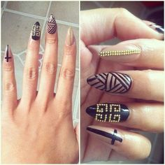 I would poke out my eye, and how do you wipe ????? w/ stiletto nails