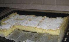 Már a barátnőm is e recept alapján csinálja :-) Hungarian Recipes, Sweet And Salty, Cake Cookies, Tiramisu, Camembert Cheese, Deserts, Muffin, Food And Drink, Pie
