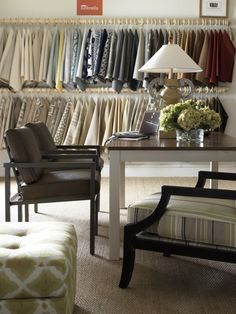 Lots of fabrics to choose from. Joe Ruggiero Collection.