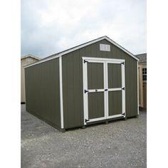 2x4 Basics Barn Roof Enclosure Kit (BRACKETS ONLY) & Reviews | Wayfair Wooden Storage Sheds, Storage Shed Kits, Garden Storage Shed, Wooden Sheds, Firewood Storage, Backyard Sheds, Outdoor Sheds, Custom Sheds, Diy Shed Plans
