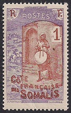 French Stamp Old Stamps, Vintage Stamps, Somali, Colonial, Belgian Congo, Horn Of Africa, Commemorative Stamps, Postage Stamp Art, Small Art