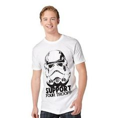 Star Wars Support Your Troops T-Shirt $14.99