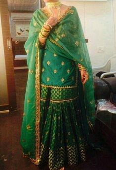 Dresses ideas For pakistani wear green colour base salwar kameez . To customised this garment log on to www. Pakistani Wedding Outfits, Pakistani Bridal Dresses, Pakistani Wedding Dresses, Pakistani Dress Design, Bridal Outfits, Punjabi Wedding, Indian Attire, Indian Wear, Indian Outfits