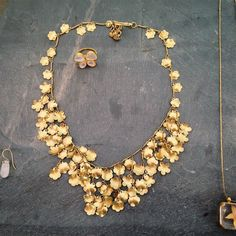 This gold necklace by Pippa Small looks like an ancient treasure from a civilization long gone. #LoveGold #FutureHeirlooms