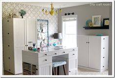 25 Beautiful Craft Rooms