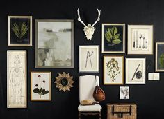 Dream House Update: How to Fill a Big, Blank Wall
