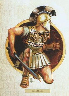 Dienekes at Thermopylae, 'we will fight in the shade'...