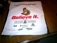 This year`s rally towel.2012