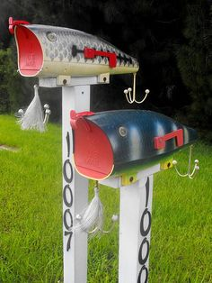 Fish Mailboxes