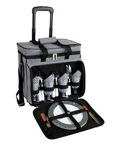 Take a look at this Four-Person Picnic Cooler by Picnic at Ascot on #zulily today!