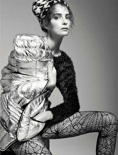 visual optimism; fashion editorials, shows, campaigns & more!: peso piuma: suzie bird by simone falcetta for vanity fair italia 3rd december 2014