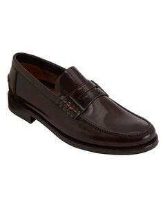 A classic American shoe that just happens to have originated in Norway and, in the case of this pair, been made in Italy.  Tubbs loafer ($565) by Paul Smith, barneys.com