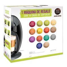 Nescafé Dolce Gusto, paquete de cápsulas (14 variedades) con cafetera de regalo | Costco Mexico