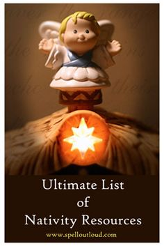 The Ultimate list of nativity resources: nativity books, nativity sets, nativity printables and more.