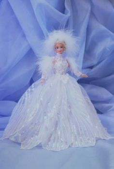 Snow Princess Barbie® Doll | enchanted-seasons-collection | The Barbie Collection